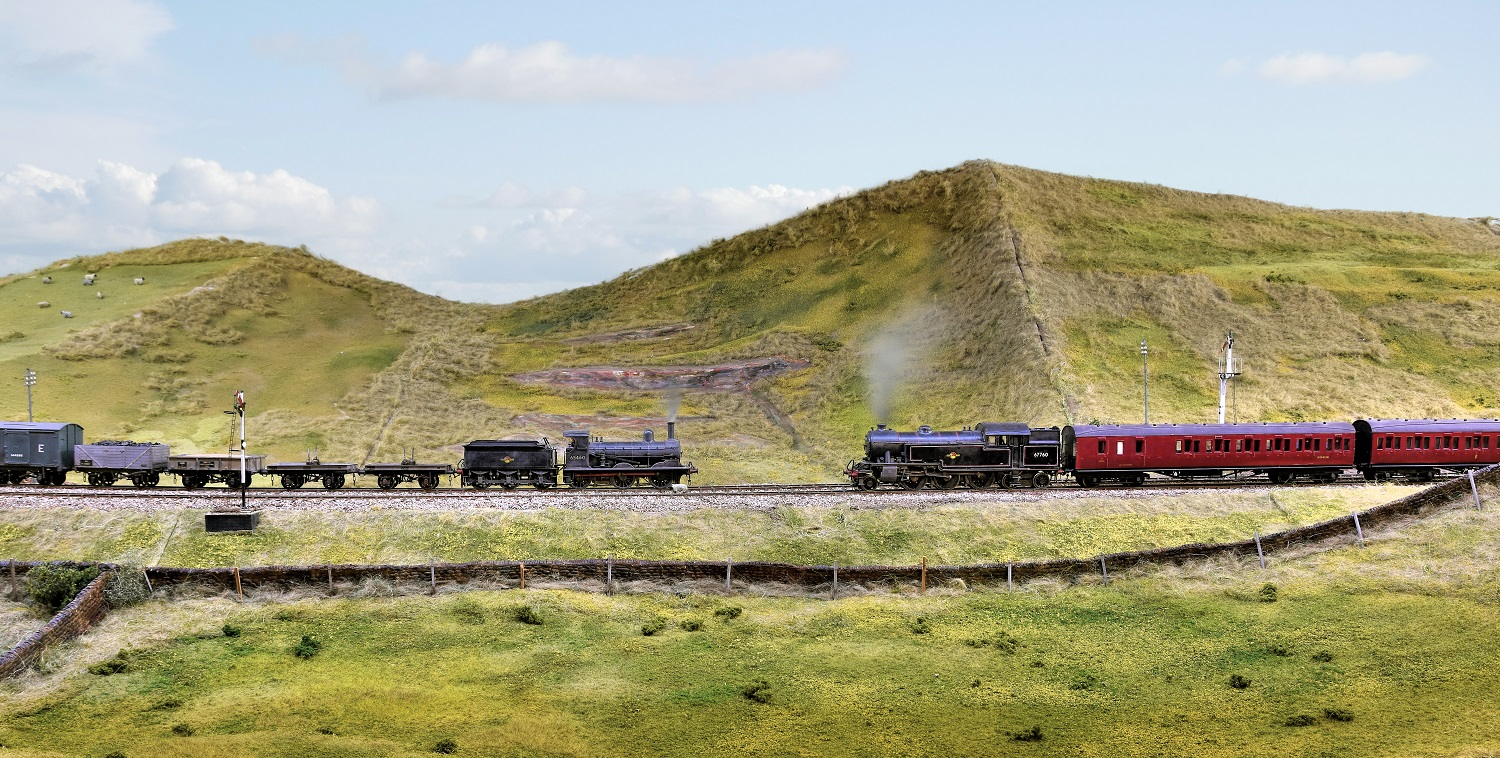 The Summit Yeovil Model Railway Group Ymrg Train Mountain Scenery Also Wiring Diagrams On Dcc 5